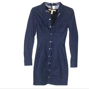 H&M DIVIDED True Blue Jean Dress